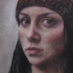 «Rita» / portrett, olje