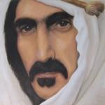 «Frank Zappa» /portrett, olje (25x25 cm)