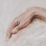 Detalj/akt, olje (Foto av maleri: Arild Hagen - www.dittfoto.no)
