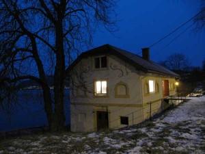 «Varmbadet», Drøbak kunstforening sitt hus i badeparken