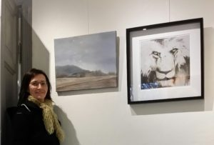 "Deltok bl.a med disse bildene på Drøbak kunstforening sin utstilling i ""Varmbadet"" (nov./des.2015)"